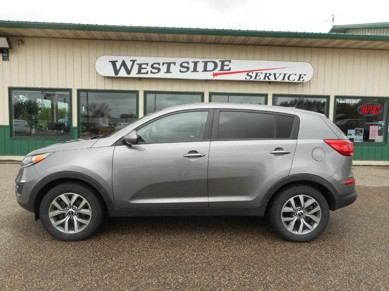2014 kia sportage lx awd 4dr suv in auburndale wi westside service inc. Black Bedroom Furniture Sets. Home Design Ideas