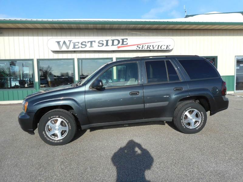 2005 chevrolet trailblazer ls 4wd 4dr suv in auburndale wi. Black Bedroom Furniture Sets. Home Design Ideas