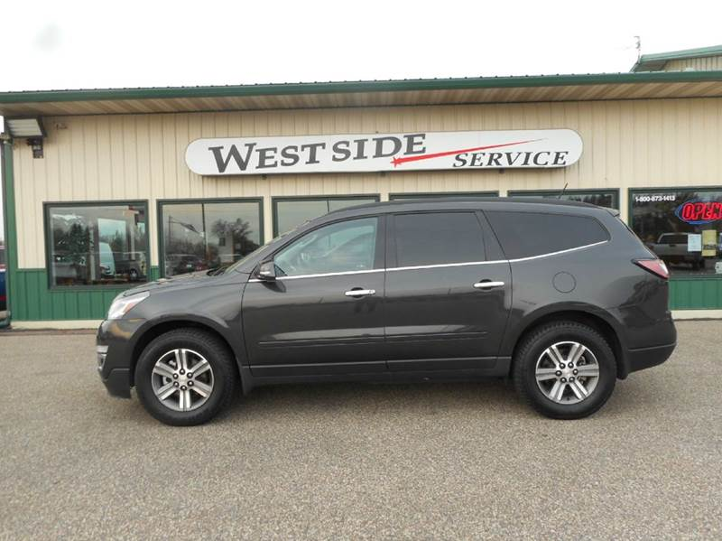 2016 chevrolet traverse awd lt 4dr suv w 1lt in auburndale wi westside service inc. Black Bedroom Furniture Sets. Home Design Ideas