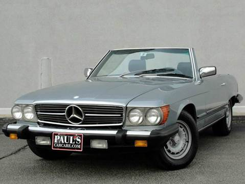 1984 Mercedes-Benz 380-Class
