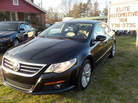 2010 Volkswagen CC for sale in Charlotte, NC