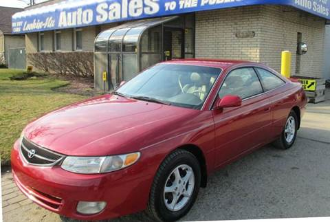 2000 Toyota Camry Solara for sale in Waterford, MI