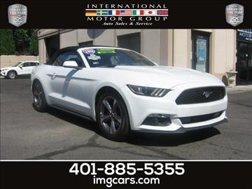 2016 Ford Mustang for sale in Warwick, RI