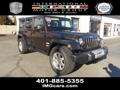 2013 Jeep Wrangler Unlimited for sale in Warwick, RI