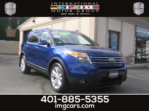 2013 Ford Explorer for sale in Warwick, RI