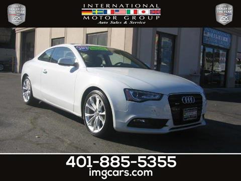 2013 Audi A5 for sale in Warwick, RI
