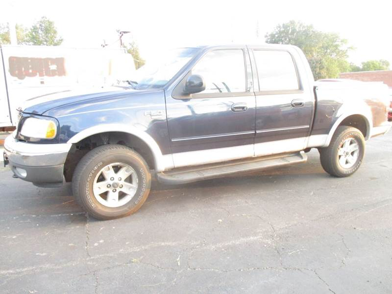 2002 ford f 150 4dr supercrew lariat 4wd styleside sb in for Crider motors mishawaka in
