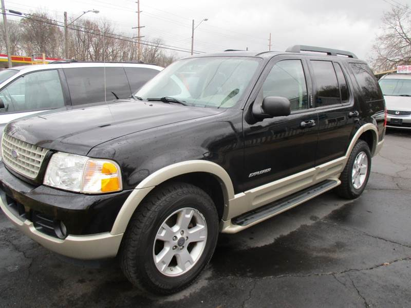 2005 ford explorer eddie bauer 4wd 4dr suv in mishawaka in crider motors. Black Bedroom Furniture Sets. Home Design Ideas