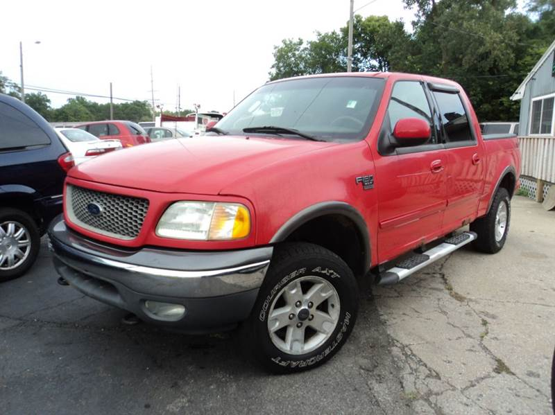 2002 ford f 150 4dr supercrew xlt 4wd styleside sb in for Crider motors mishawaka in