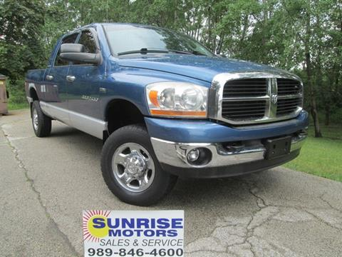 2006 Dodge Ram Pickup 2500 for sale in Standish, MI