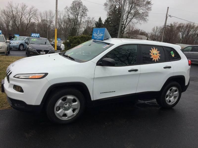 2014 Jeep Cherokee 4x4 Sport 4dr SUV - Waukegan IL