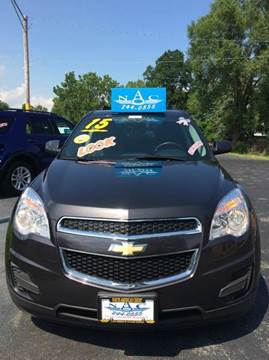 2015 Chevrolet Equinox for sale in Waukegan, IL