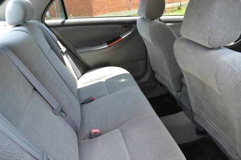 2003 Toyota Corolla LE 4dr Sedan - Durham NC