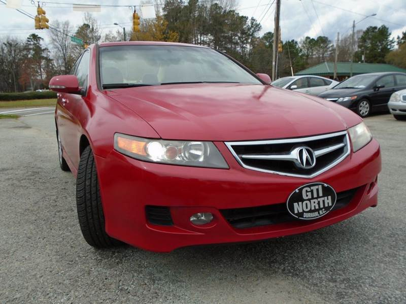 Acura Tsx Base Dr Sedan A In Durham NC GTI North Auto Sales - Acura tsx for sale in nc
