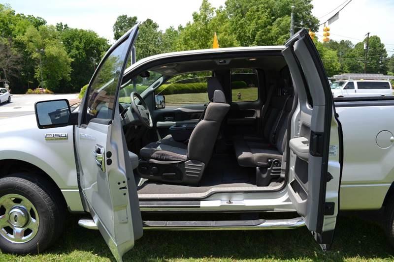2004 Ford F-150 4dr SuperCab XLT 4WD Styleside 5.5 ft. SB - Durham NC