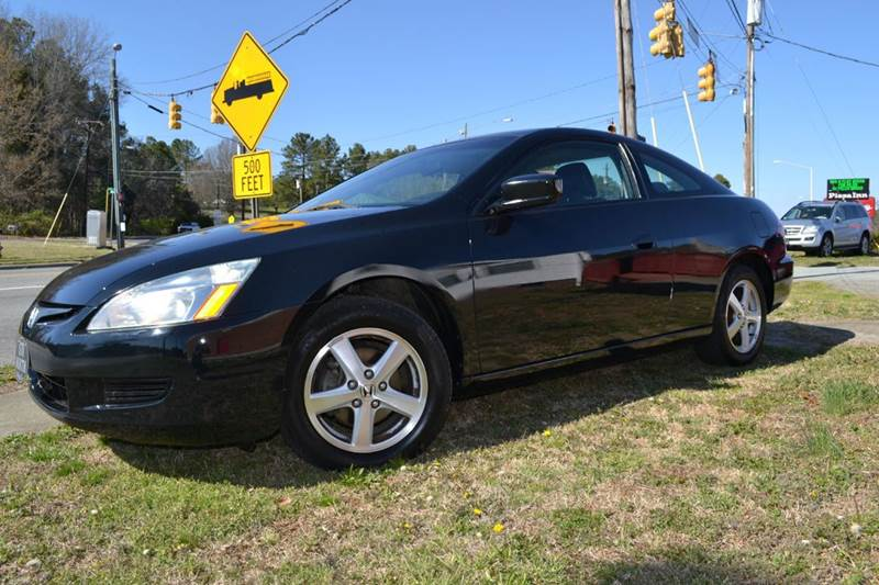 2005 Honda Accord EX 2dr Coupe w/Leather - Durham NC
