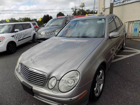 2004 Mercedes-Benz E-Class for sale in Lincolnton, NC