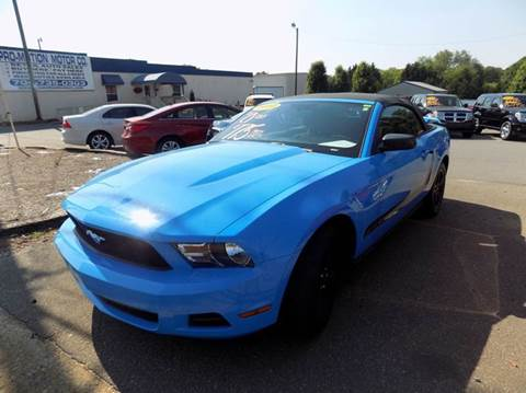 2010 ford mustang v6 2dr convertible - Ford Mustang Convertible 2010