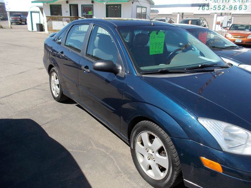 2002 ford focus zts 4dr sedan in cambridge mn woodys. Black Bedroom Furniture Sets. Home Design Ideas
