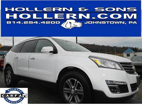 2017 Chevrolet Traverse for sale in Johnstown, PA
