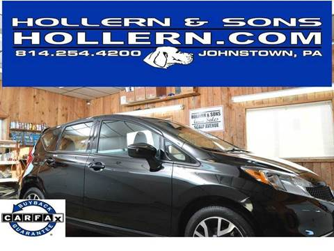 2016 Nissan Versa Note for sale in Johnstown, PA