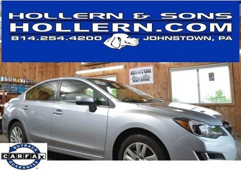 2016 Subaru Impreza for sale in Johnstown, PA