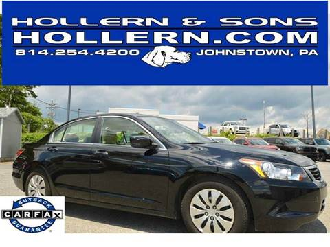 2009 Honda Accord for sale in Johnstown, PA