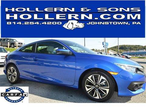 2017 Honda Civic for sale in Johnstown, PA