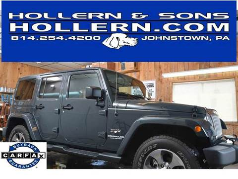 2017 Jeep Wrangler Unlimited for sale in Johnstown, PA