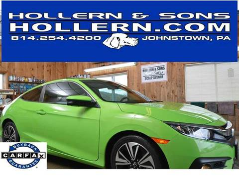 2016 Honda Civic for sale in Johnstown, PA