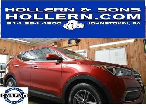 2017 Hyundai Santa Fe Sport for sale in Johnstown, PA