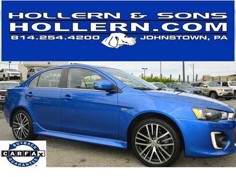 2017 Mitsubishi Lancer for sale in Johnstown, PA