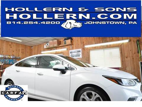 2016 Chevrolet Cruze for sale in Johnstown, PA
