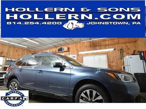 2017 Subaru Outback for sale in Johnstown, PA