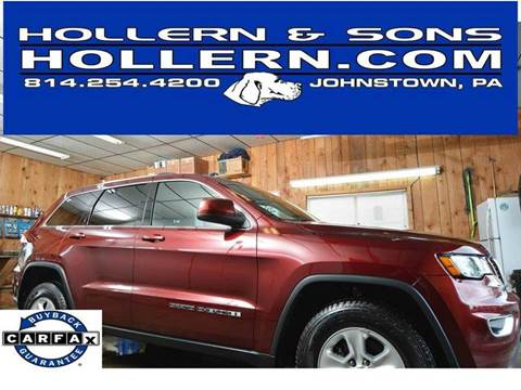 2017 Jeep Grand Cherokee for sale in Johnstown, PA
