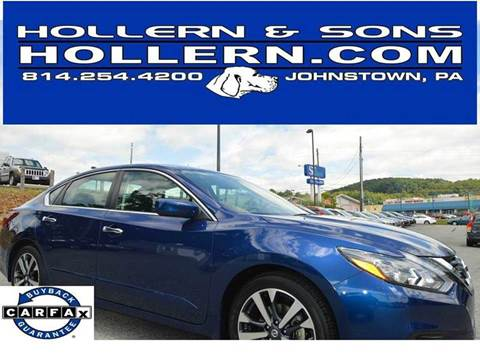 2017 Nissan Altima for sale in Johnstown, PA