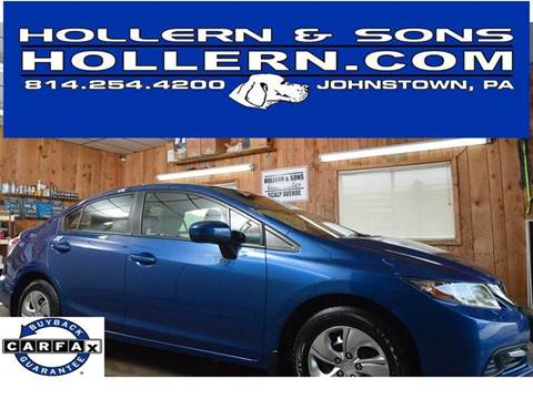 2015 Honda Civic for sale in Johnstown, PA