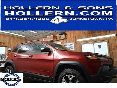 2016 Jeep Cherokee for sale in Johnstown, PA