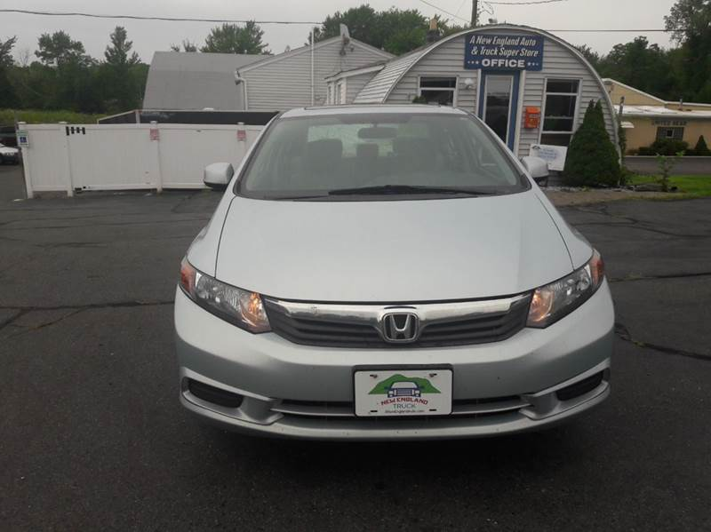 2012 Honda Civic EX 4dr Sedan - Suffield CT