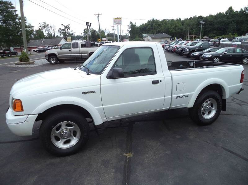 2002 Ford Ranger Edge Plus 2dr Standard Cab 4WD Styleside SB - Suffield CT