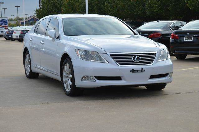 2008 lexus ls 460 base 4dr sedan in dallas tx silver. Black Bedroom Furniture Sets. Home Design Ideas