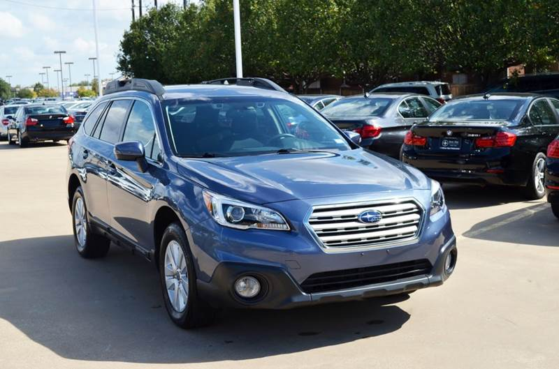2016 subaru outback awd premium 4dr wagon in dallas tx silver star motorcars. Black Bedroom Furniture Sets. Home Design Ideas