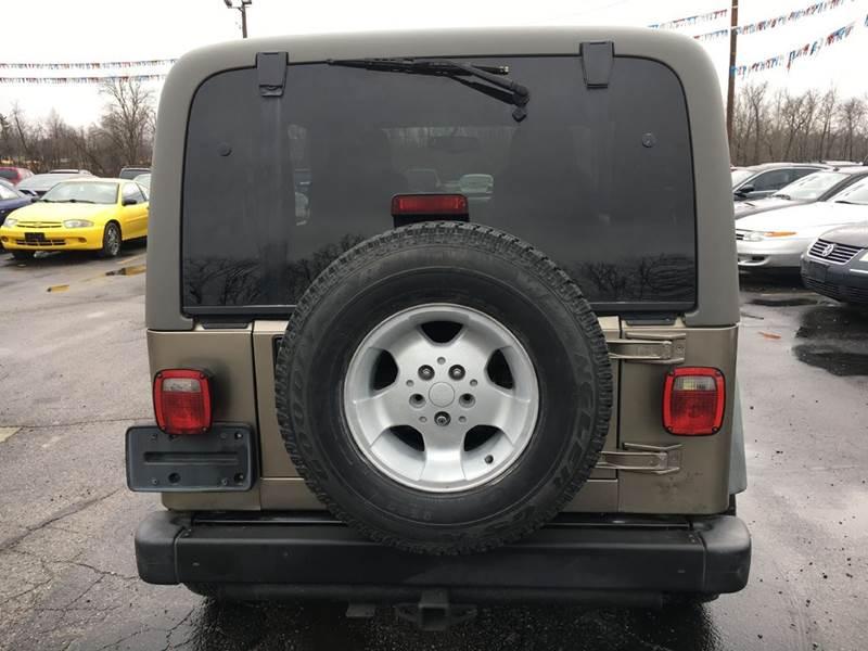 2003 Jeep Wrangler 2dr Sport 4WD SUV - Murphysboro IL