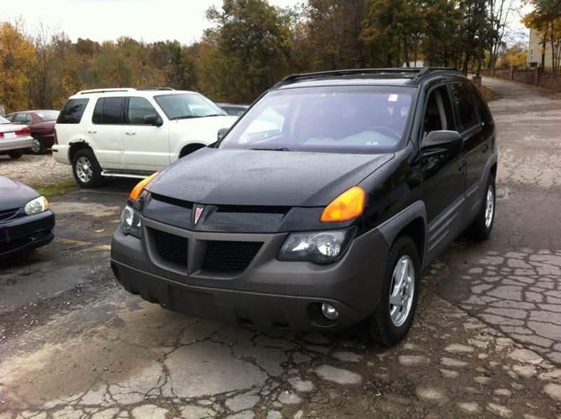 2001 Pontiac Aztek Gt Awd 4dr Suv In Murphysboro Il Best Buy Auto Sales