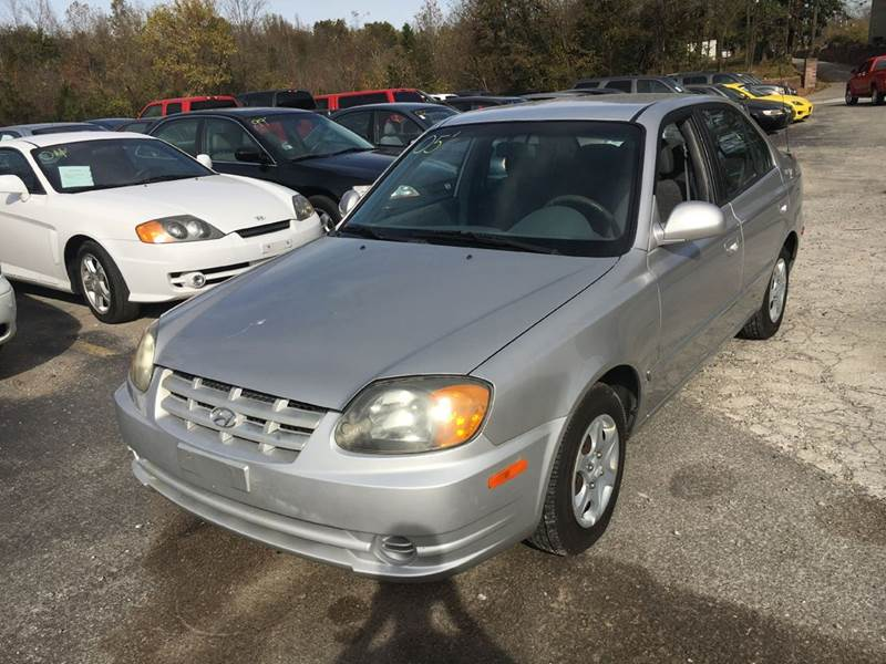 2005 hyundai accent gls 4dr sedan in murphysboro il best. Black Bedroom Furniture Sets. Home Design Ideas