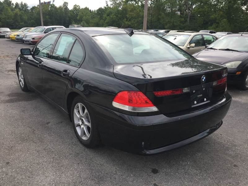 2005 Bmw 7 Series 745i 4dr Sedan In Murphysboro IL