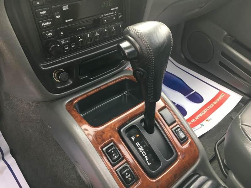 2002 Suzuki Grand Vitara JLX 4WD 4dr SUV - Murphysboro IL