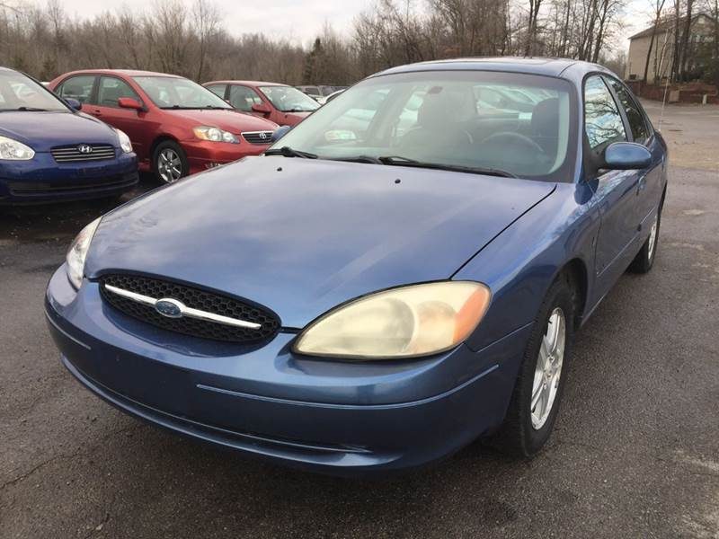 2002 Ford Taurus SEL Premium 4dr Sedan - Murphysboro IL