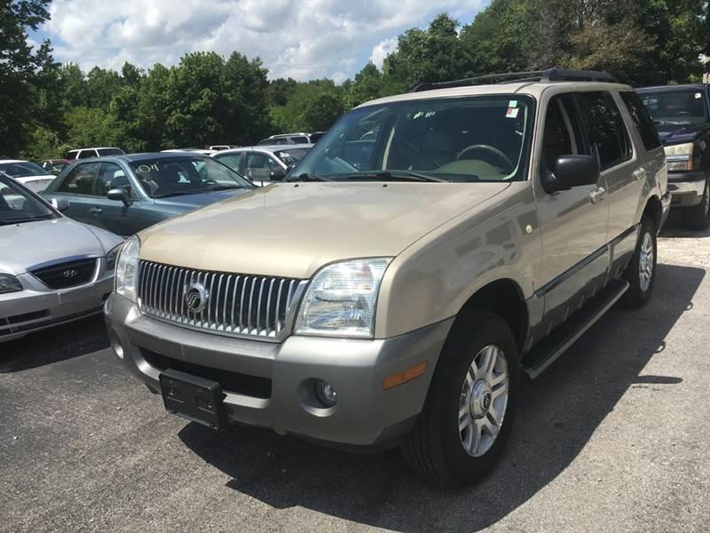 2005 Mercury Mountaineer Awd 4dr Suv In Murphysboro Il Best Buy Auto Sales