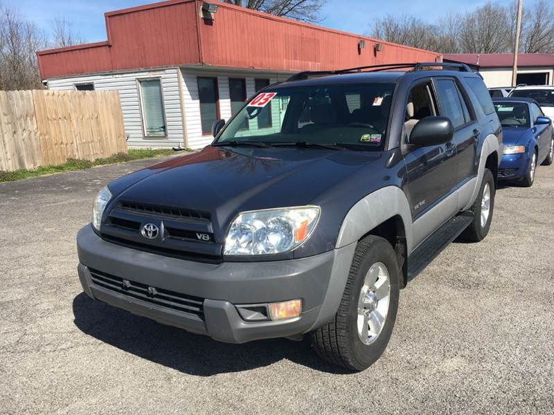 2003 toyota 4runner sr5 4wd 4dr suv in murphysboro il best buy auto sales. Black Bedroom Furniture Sets. Home Design Ideas
